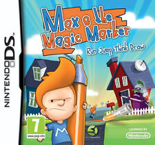 Max & the Magic Marker (Nintendo DS, 2011) cartridge only TESTED