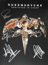 QUEENSRYCHE SIGNED 11X17 PROMO POSTER W/PROOF!!!!!!