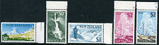 NEW ZEALAND ~ #400 - 404 Mint Never Hinged Set Selvage - NATIONAL PARKS ~ S5525