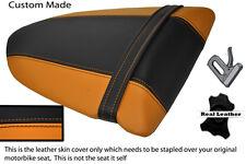 ORANGE & BLACK CUSTOM FITS KAWASAKI NINJA ZX6R 600 05-06 REAR SEAT COVER