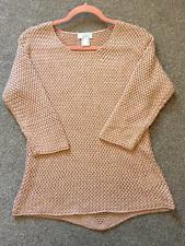 Neues AngebotCreation L @ Kaleidoscope Größe 10 glitzernde Texturiert Pullover Pullover Top £ 61 pink