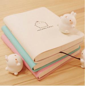2019 Cute Kawaii Notebook Cartoon Cute Lovely Journal Diary Planner Notepad for