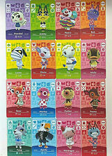 Animal Crossing Amiibo Cards - US NA Version ACNH Switch Amiibo - Any Villager