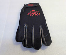 BOSS GUARD, WASHABLE GUARD GLOVES, UNISEX, 2X-LARGE - BLACK
