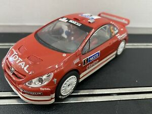 SCALEXTRIC CAR - PEUGEOT 307 - Rare Front Wheel Drive FWD