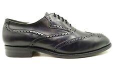 Foot Joy FJ Classics Black Leather Wingtip Lace Up Oxfords Shoes Men's 11 E