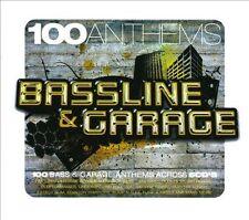 100 Anthems - Bassline and Garage -Brand New Factory Sealed 5CD Box Set.