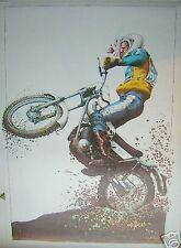 Affiche SERRE Moto 55x75