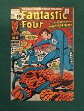Fantastic Four 115 Fine+ (6.5) - White Pages -  Secret of the Eternals Part 3