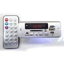 5V/12v Digital LED mp3 decoder Board + Remote usb SD FM Radio FOR CAR amplifier