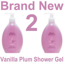 Back to Basics Vanilla Plum Body Wash/Shower Gel,2 each 10 ounce Pump Bottles