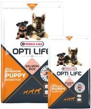 OPTILIFE Puppy ALLBREEDS  kg12,5 SALMONE RISOCroccantiniCANEmonoproteiciCUCCIOLI