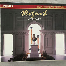 MOZART: Mitridate - Hollweg/Auger/Baltsa - Hager(3-CD-Box Philips 422-529-2/neu)