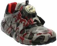 Puma Disc Blaze Camo X Trapstar  Casual Running  Shoes - Black - Mens