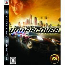 Used PS3 Need for Speed Undercover Japan Import