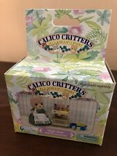 Calico Critters High Chair And Accessories Set Retired HTF RARE CC1664