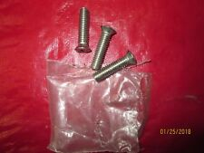 1947-72 CHEVY & GMC TRUCK 3 PIECE POLISHED STAINLESS STEEL EXT MIRROR ARM SCREWS