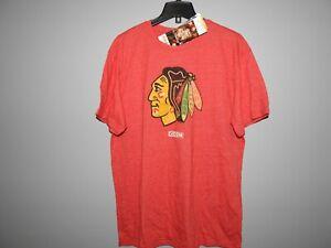 NHL CCM Vintage Chicago Blackhawks #7 Hockey Shirt New Mens Sizes MSRP $35