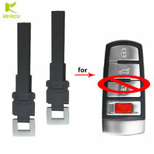 2X Replacement Uncut Spare Remote Emergency Key Blade For Volkswagen NBG009066T