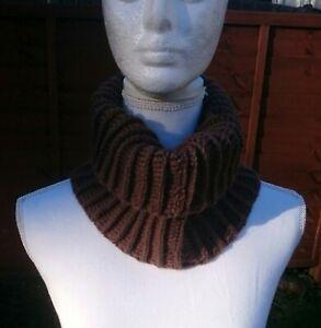 Brown color crochet neack wrap modern fabulous shawl-Christmas gift-1qty