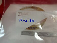 OPTICAL LENS DIOPTER CONVEX 15.011 CALIBRATION GLASS OPTICS AS IS B#IL-2-33