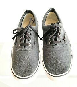VANS OLD SKOOL LOW CUT SNEAKERS LACE-UP SKATE  SHOES OFF THE WALL-Us10