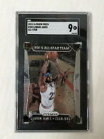 LEBRON JAMES 2015-16 Prizm All-Star Team INSERT #352! SGC MINT 9! PSA COMP! NICE