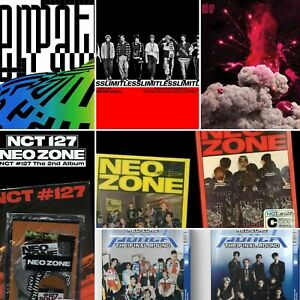 NCT 127 ALBUM: EMPATHY CHERRY BOMB LIMITLESS NEO ZONE (SELECT) [KPOPPIN USA]