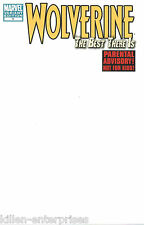 Wolverine Best There Is #1 Blank Cover Variant Comic Book 2011 - Marvel