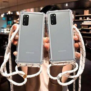 Funda Antigolpes Con Cordón Para Samsung Galaxy A12   A02s   A32   A52   A72