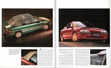 Rover 200-Series Cabriolet 1992 UK Market Sales Brochure 214 216