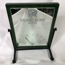 Pierre Kunz Rare Mirror Watch 3D Display Promotional Store Geneve Tabletop Time