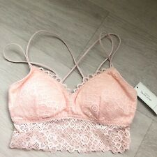 Gilly Hicks Pink Longline Bralette. Brand New With Tags.