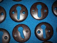 Art Deco Bakelite Key Hole Escutcheons Fittings for Door Knobs & Handles