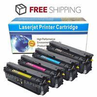 4PK CF360X 361X 362X 363X Color Toner Set For HP 508X LaserJet M552 M553 M577