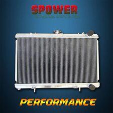 Aluminum Radiator For Nissan 240SX LE SE XE XE L4 2.4L MT 89-94 2 Row 50mm Core
