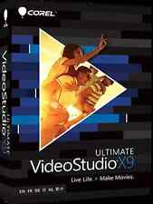 Corel VIDEOSTUDIO Ultimate x9 per Windows editor video di YouTube Pro Software ottimale