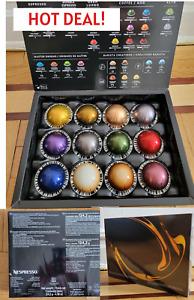 Nespresso Vertuo Variety Sample Pack - 12 Capsules Sealed