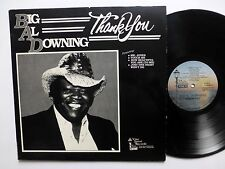 Big AL DOWNING Thank You LP Blues   Lc174