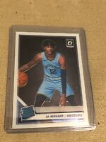 JA MORANT 2019-20 OPTIC RATED ROOKIE CARD #168 MEMPHIS GRIZZLIES RC