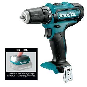 MAKITA FD05Z 12V MAX CXT Cordless Driver-Drill & ML103 LED Flashlight TOOL ONLY