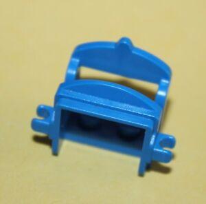 Selle Lego Blue Horse Saddle 2 Clips ref 4491b/set 6090 6763 6766 6748 6086 6746