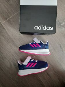 BABY GIRLS ADIDAS FALCON TRAINERS SIZE C4