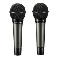 2 X AUDIO-TECHNICA ATM510 Cardioid Dynamic Handheld Microphone