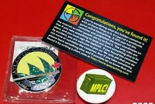 """GEOCOIN """" ATLANTIC CACHERS"""" + GIFTS - CANADA - NOT ACTIVATED- TRACKABLE"""