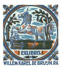 Ex Libris Jan Battermann : Opus 212, Willem Karel de Bruijn R.A.