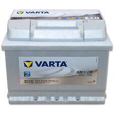 Autobatterie 12V 63Ah 610 A/EN  Varta Silver Dynamic D15