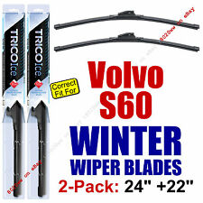 WINTER Wipers 2-Pack Premium Grade - fit 2001-2009 Volvo S60 S-60 - 35240/35220