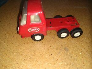 Tiny Tonka Red Truck Cab
