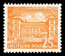EBS West Berlin 1949 Berlin Buildings (I) Tegel Castle Michel 50 MNH**